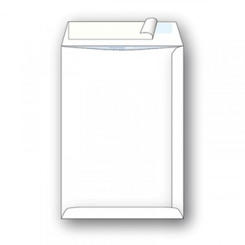 Пакет белый С4 стрип Businesspack 229х324 мм 120 г 200 штук в коробке