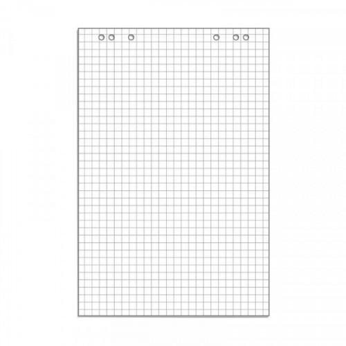 Блок бумаги для флипчартов клетка 67,5х98 50 листов