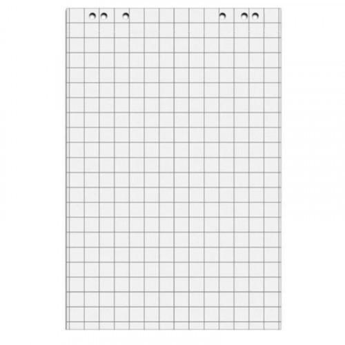 Блок бумаги для флипчартов клетка 67,5х98 50 листов 5 блоков 80 грамм