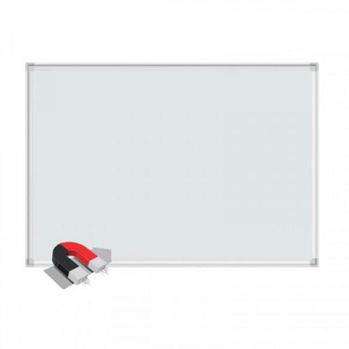 Доска магнитно-маркерная 1-элементная BoardSYS 120x240 см лаковое покрытие алюминиевая рама белая