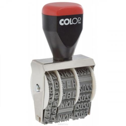 Датер ручной 5 мм 05000 аналог 1020 Colop