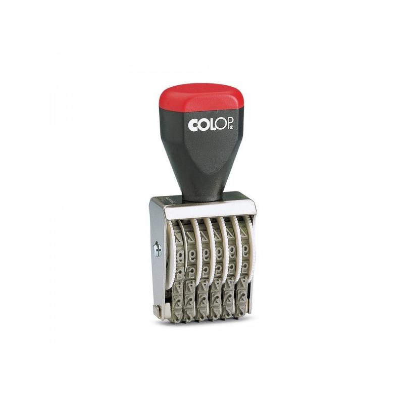 Нумератор ручной 6-и разрядный высота шрифта 5 мм 05006 Colop