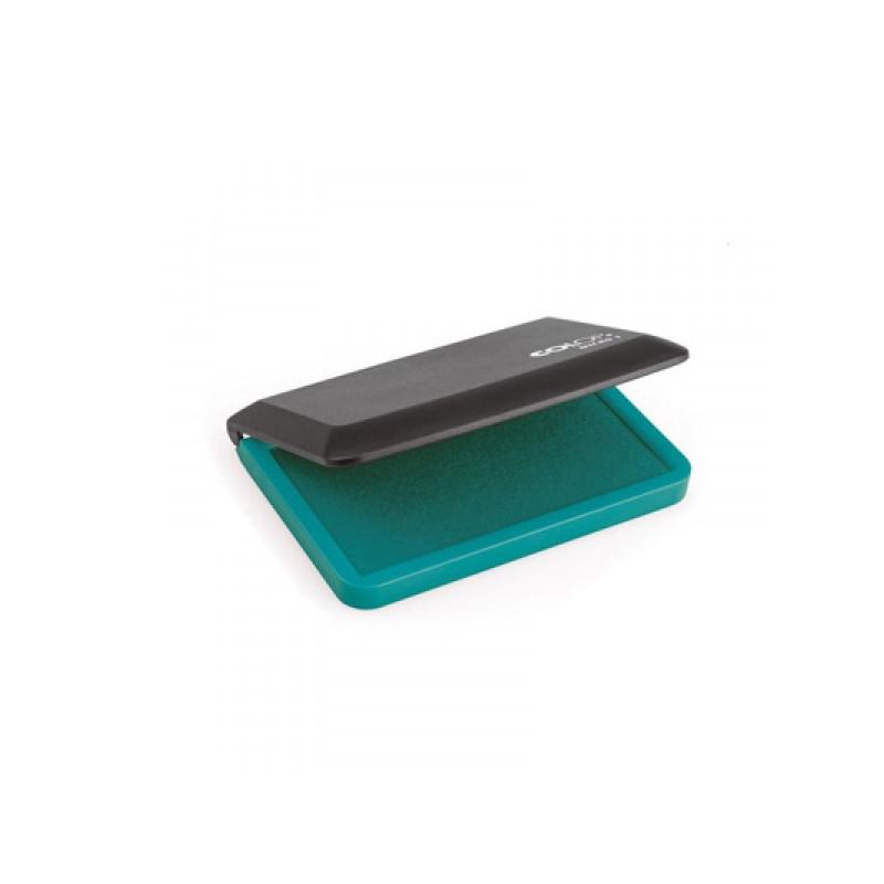 Подушка штемпельная настольная Micro 1 зеленая 9х5 см Colop