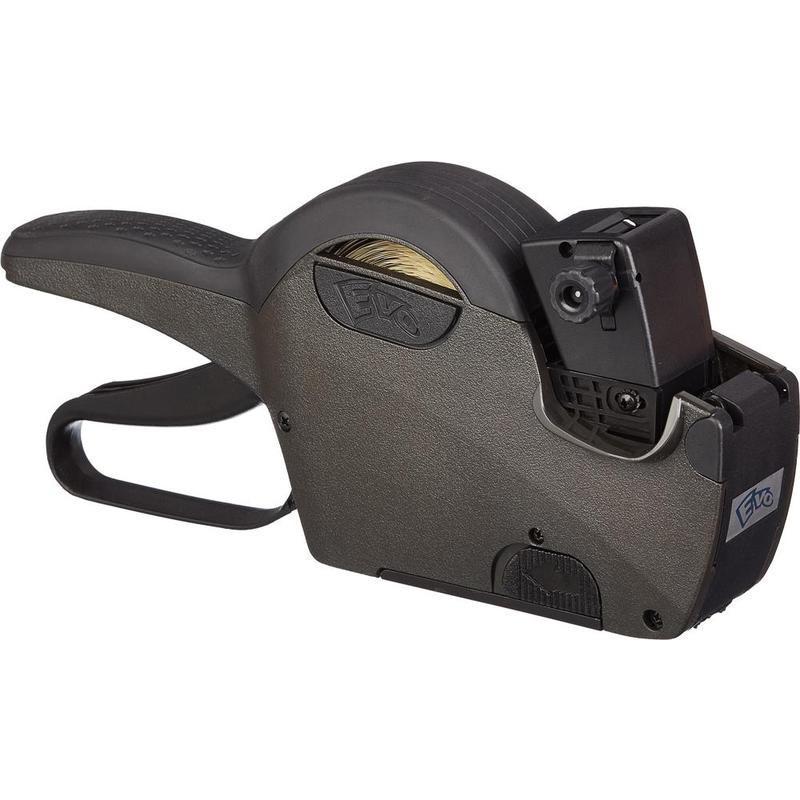 Этикет-пистолет EVO 22-12-8 однострочный 8 символов 22х12 волнистая лента