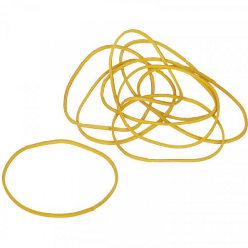 Резинка универсальная 500 грамм диаметр 60 мм желтый