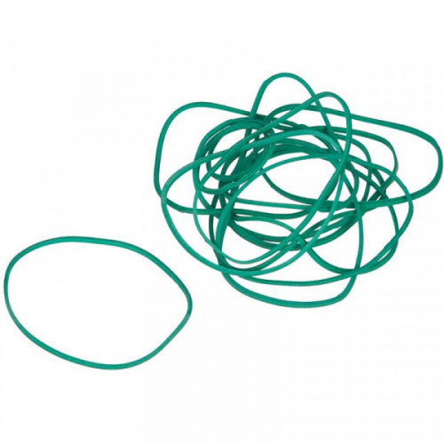 Резинка универсальная 500 грамм диаметр 60 мм зеленый