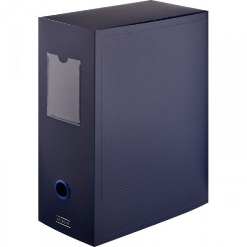 Короб архивный Attache пластик синий 330x70x245 мм