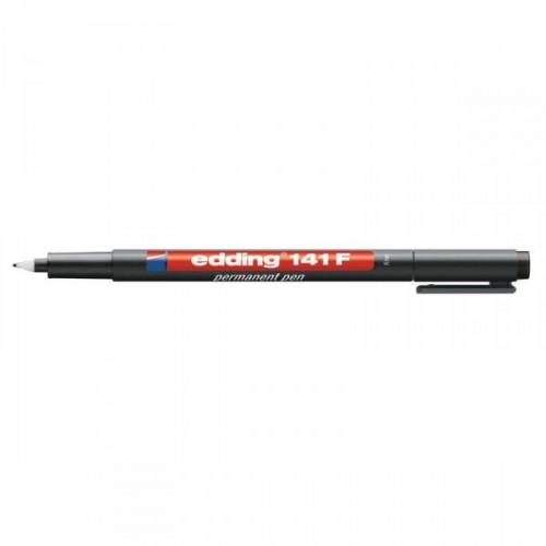 Маркер для пленок и глянцевых поверхностей Edding E-141/1 F черный с толщиной линии 0.6 мм