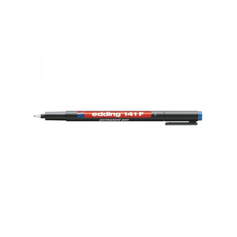 Маркер для пленок и глянцевых поверхностей Edding E-141/3 F синий с толщиной линии 0.6 мм
