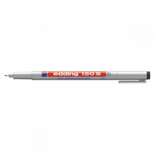 Маркер для пленок и глянцевых поверхностей Edding E-150/1 S черный с толщиной линии 0.3 мм