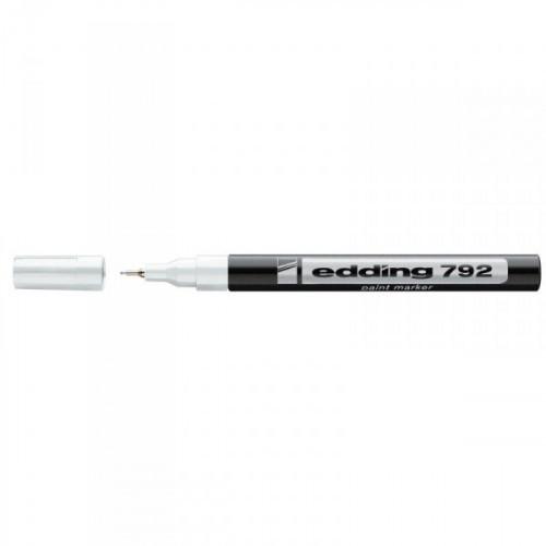 Маркер пеинт лаковый Edding 792/49 белый с толщиной линии 0.8 мм