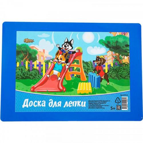 Доска для лепки №1School Шустрики А5 синяя