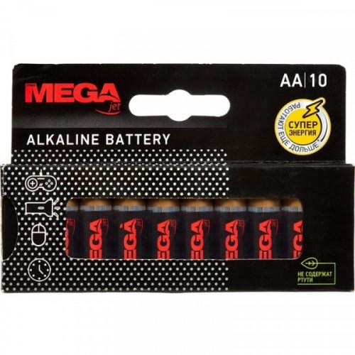 Батарейки ProMega Jet пальчиковые AA LR6 10 штук в упаковке