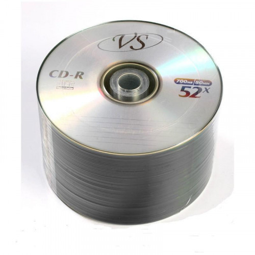 Носители информации CD-R VS 700MB 52x Bulk 50 штук