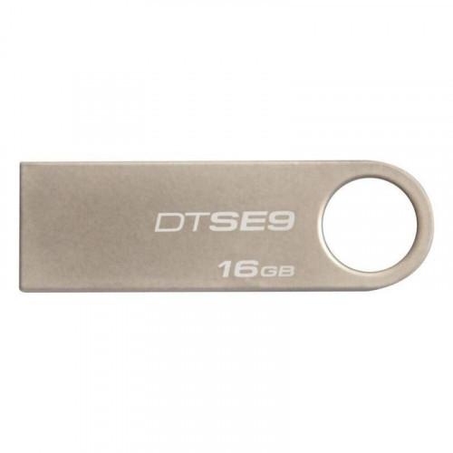 Флеш-память Kingston DataTraveler SE9 16Gb USB 2.0 серебристая