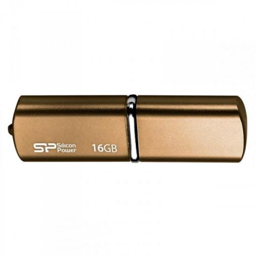 Флеш-память Silicon Power Luxmini 720 16Gb USB 2.0 бронзовая