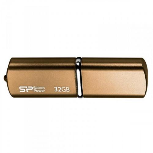 Флеш-память Silicon Power Luxmini 720 32Gb USB 2.0 бронзовая