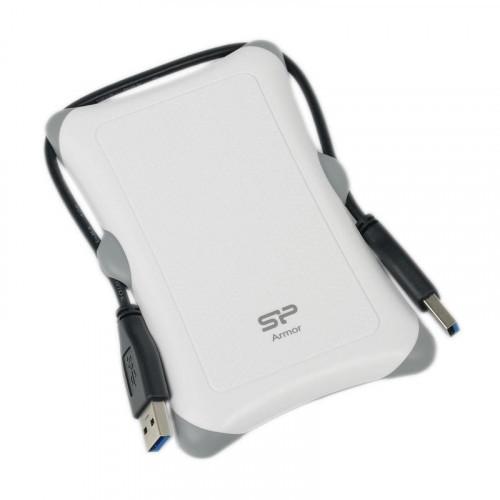 Портативный HDD Silicon Power A30 1TB USB3.0(SP010TBPHDA30S3W)белый, 2,5