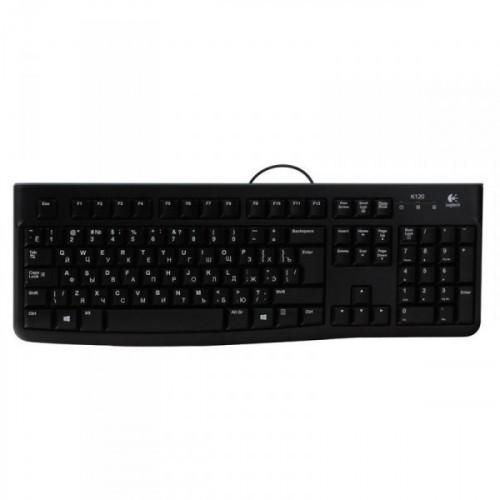 Клавиатура Logitech Keyboard K120 USB Ret
