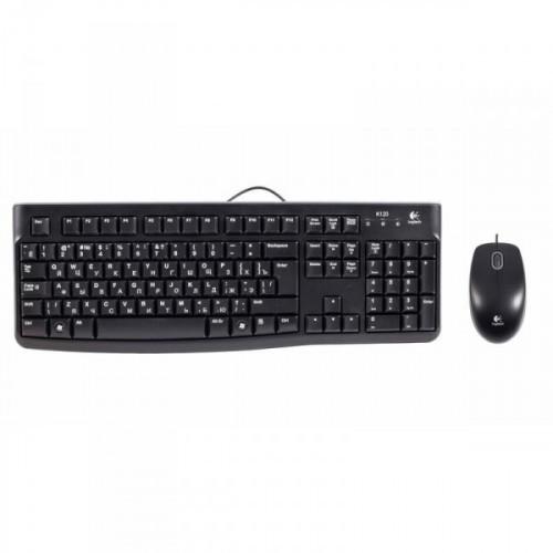 Комплект клавиатура и мышь Logitech Classic Desktop MK120