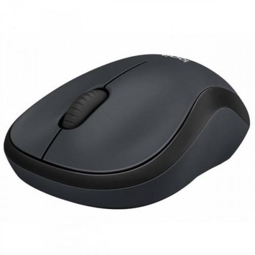 Мышь компьютерная Logitech M220 Silent Charcoal