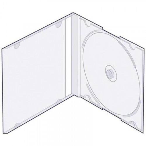 Бокс для CD/DVD дисков VS CD-box Slim 5 штук прозрачный