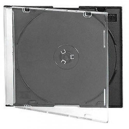 Бокс для CD/DVD дисков VS CD-box Slim 5 штук черный