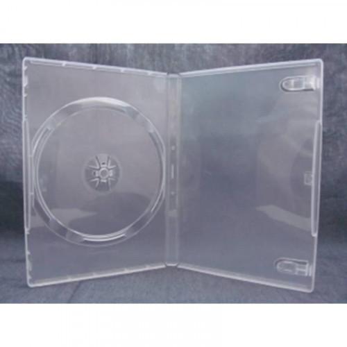 Бокс для CD/DVD дисков VS DVD-box 5 штук 14 мм прозрачный