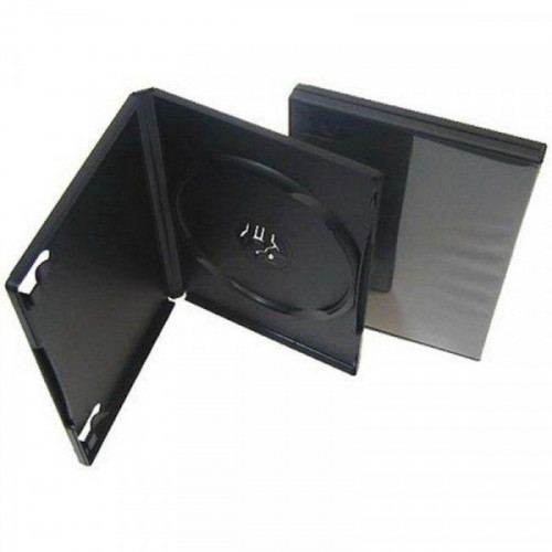 Бокс для CD/DVD дисков VS DVD-box 5 штук 14 мм черный