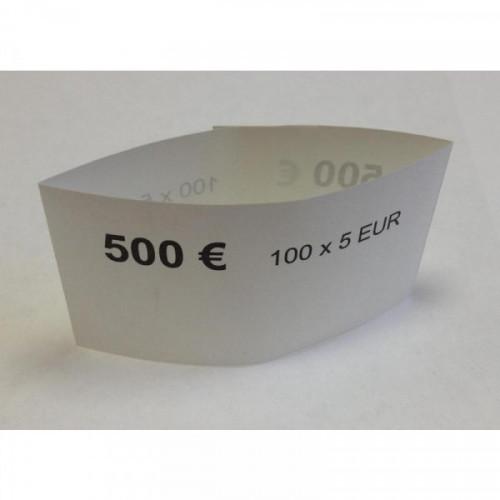 Кольцо бандерольное номинал 5 евро 500 штук в упаковке