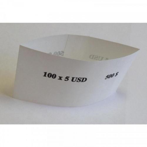 Кольцо бандерольное номинал 5$ 500 штук в упаковке