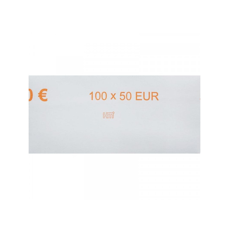 Кольцо бандерольное номинал 50 евро 500 штук в упаковке