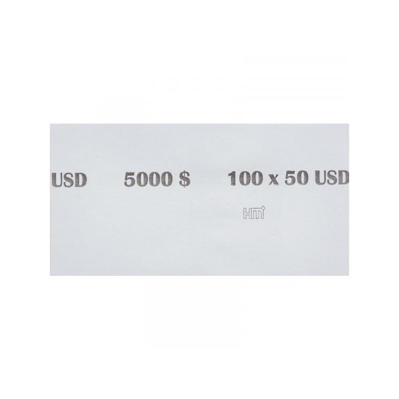 Кольцо бандерольное номинал 50$ 500 штук в упаковке