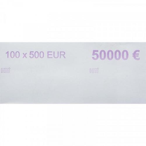 Кольцо бандерольное номинал 500 евро 500 штук в упаковке