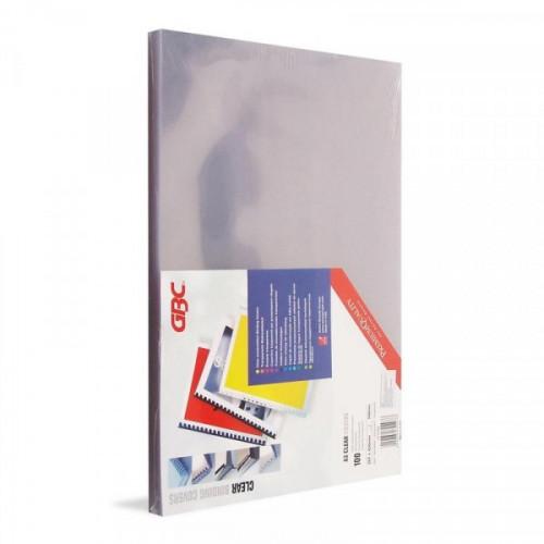 Обложки для переплета пластиковые прозрачные 100 штук/упаковка А3 180 мкм