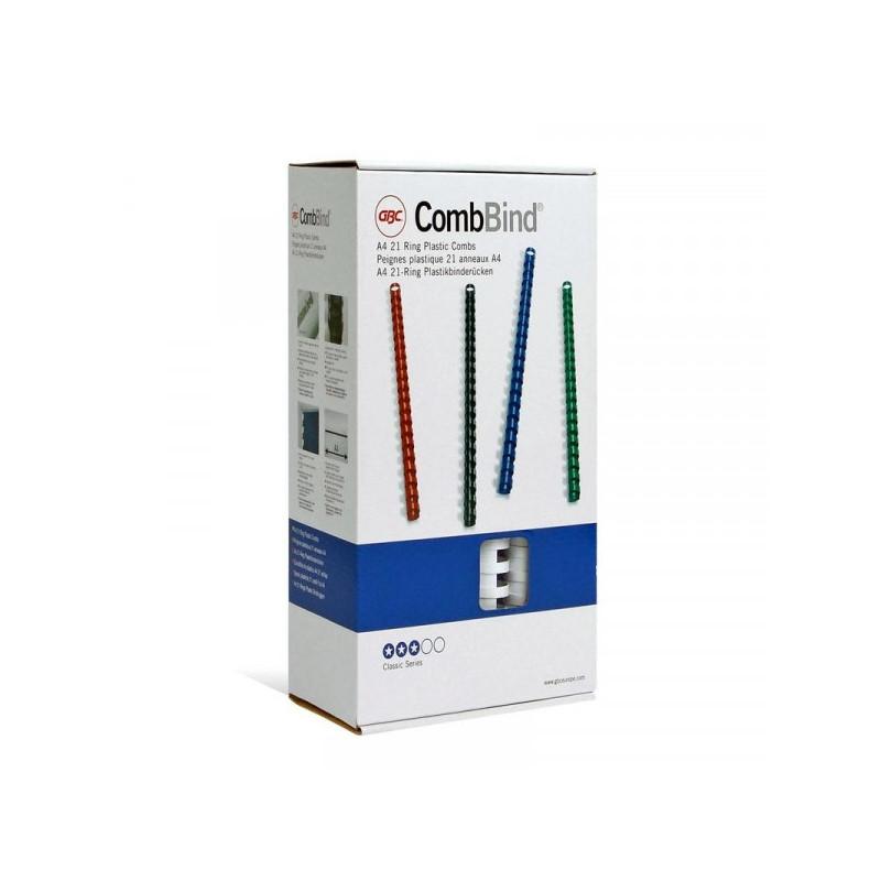 Пружины для переплета пластиковые белые 16 мм 100 штук/упаковка
