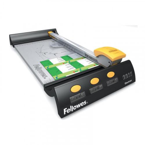 Резак для бумаги Fellowes Electron A4 380 мм до 10 листов роликовый 4 стиля резки