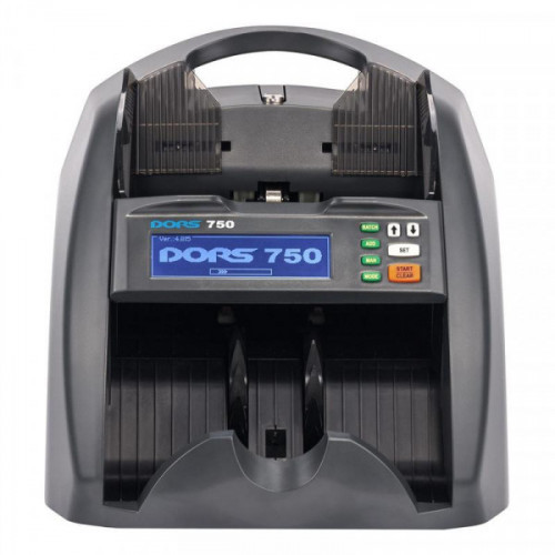 Счетчик банкнот DORS 750 Black, 1500 банк/мин.,5 видов детекций