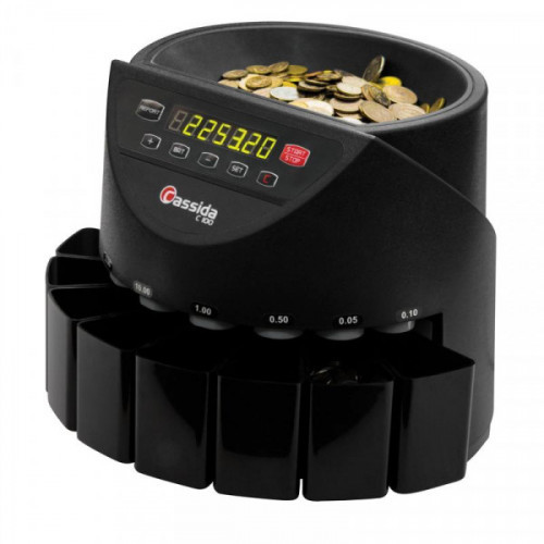 Счетчик монет Cassida C100, 250 монет/мин