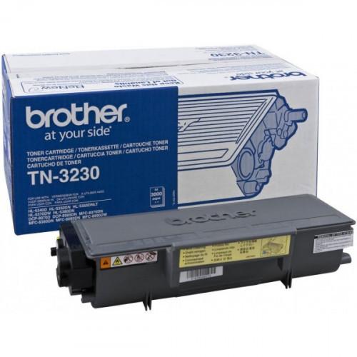 Картридж лазерный Brother TN-3230 черный оригинальный