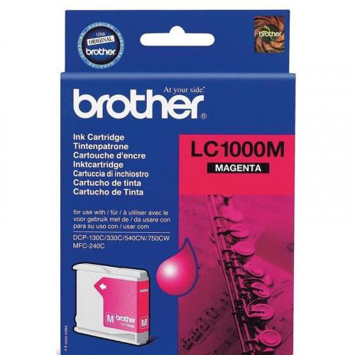 Картридж струйный Brother LC1000M пурпурный оригинальный