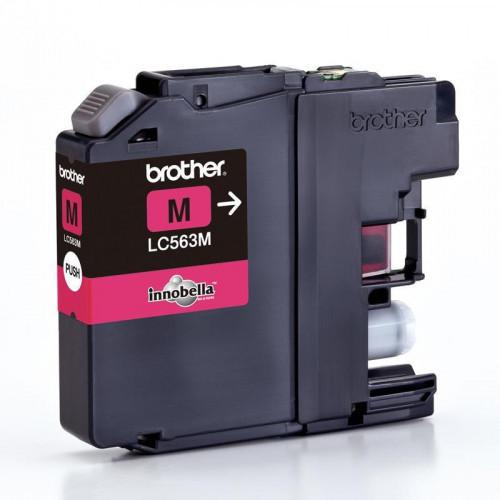 Картридж струйный Brother LC563M пурпурный оригинальный