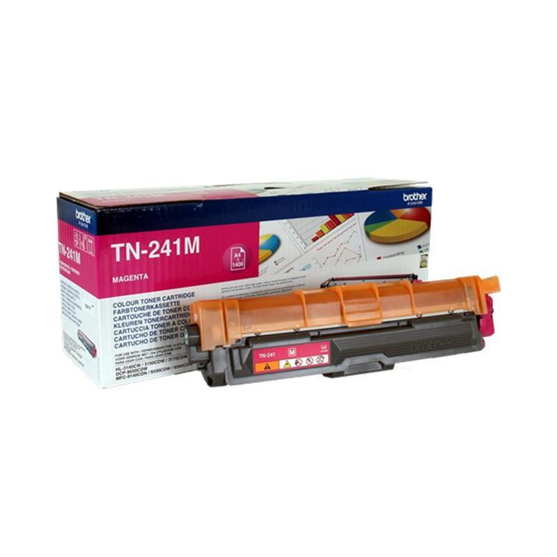 Картридж лазерный Brother TN-241M пурпурный оригинальный