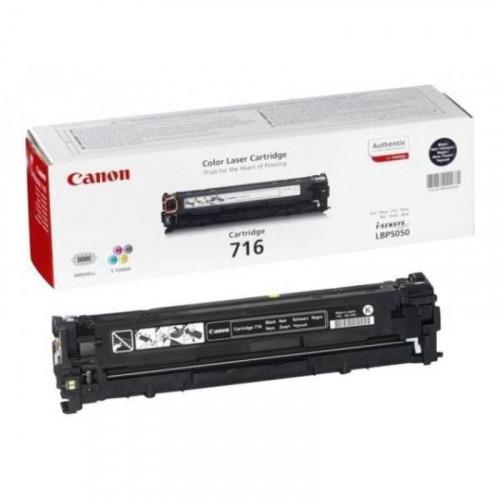 Тонер-картридж лазерный Canon Cartridge 716 1980B002 черный оригинальный