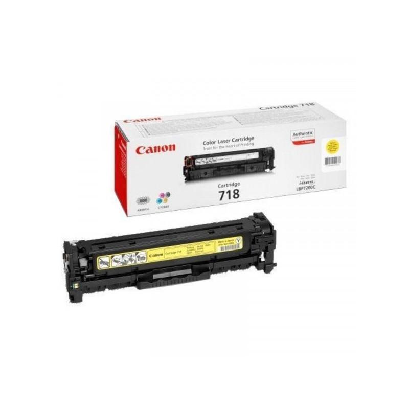 Картридж лазерный Canon Cartridge 718Y 2659B002 желтый оригинальный