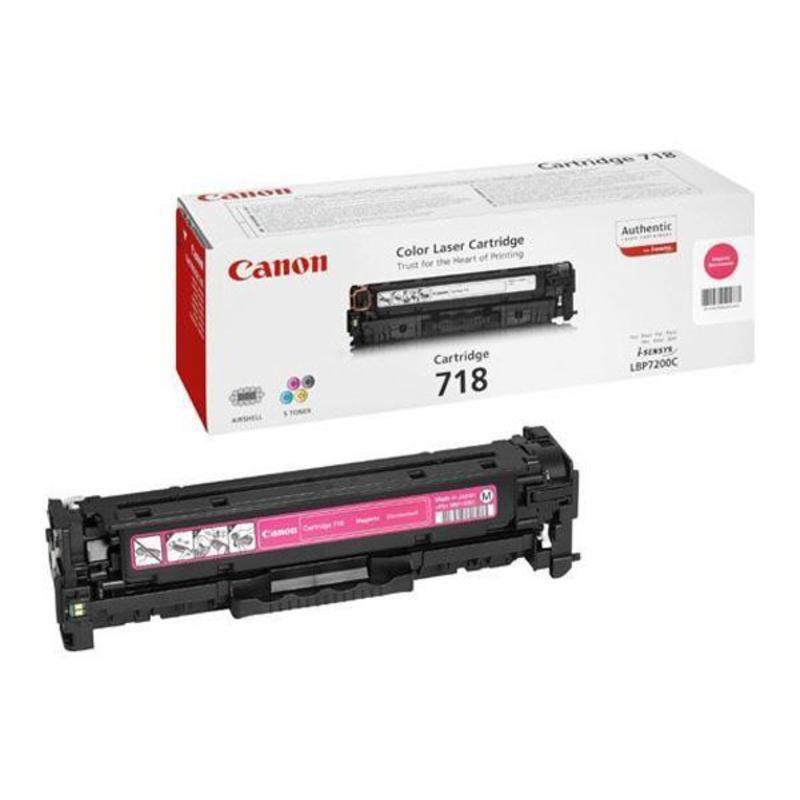 Картридж лазерный Canon Cartridge 718M 2660B002 пурпурный оригинальный
