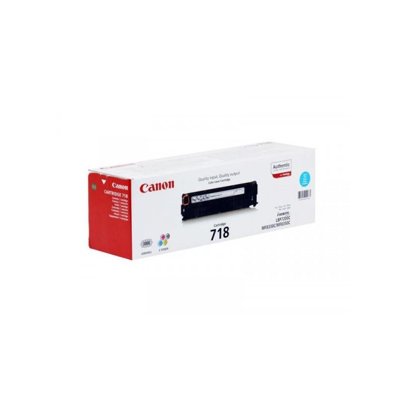 Картридж лазерный Canon Cartridge 718 2661B002 голубой оригинальный