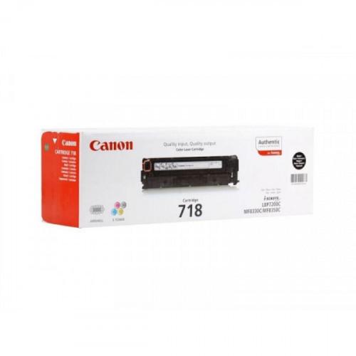 Картридж лазерный Canon Cartridge 718 2662B002 черный оригинальный