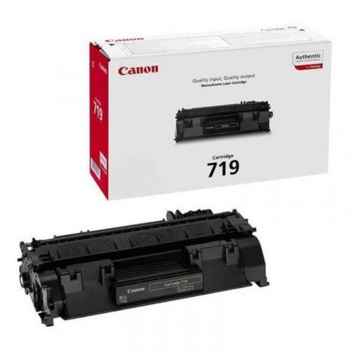 Тонер-картридж лазерный Canon Cartridge 719 3479B002 черный оригинальный