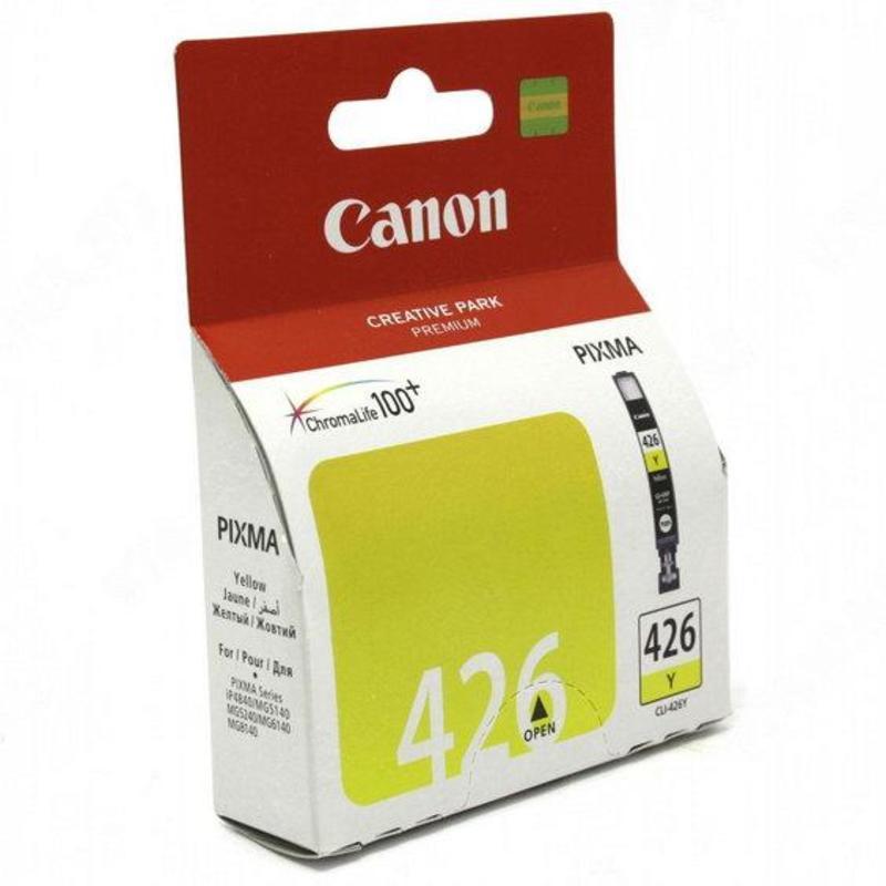Картридж струйный Canon CLI-426Y 4559B001 желтый оригинальный